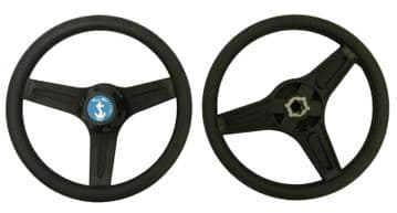 BOAT STEERING WHEEL MARINE rib speedboat cruiser fishing inboard